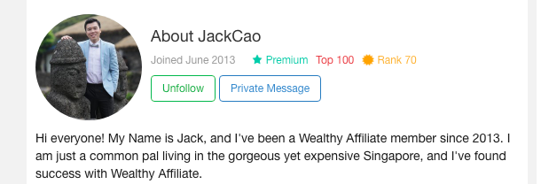 jack makes more money now than in his corporate job